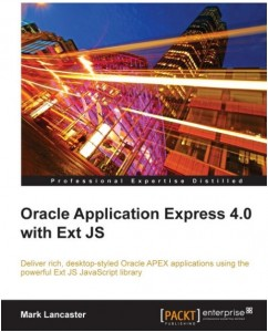 Oracle APEX with Ext JS